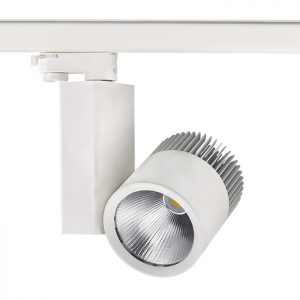High Lumen adjustable beam Commercial 40W led track light
