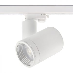 Zoomable focusing beam angle adjustable 30W cob track light led lighting