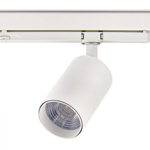 Flicker free 20W CRI 90 integrated LED track light for exhibition,retail shops