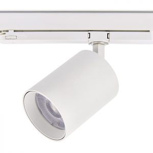 Longer life COB 20w 30w 40w showroom ceiling track light led track light