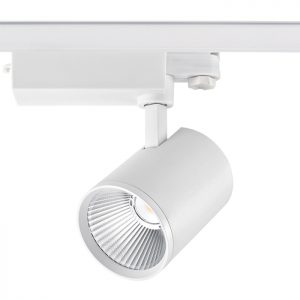 cob 40w Dimmable aluminum shop white black adjustable led track light GD19C40A