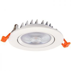 Anti-glare 5W/10W/15W/20W COB Recessed LED Ceiling Light